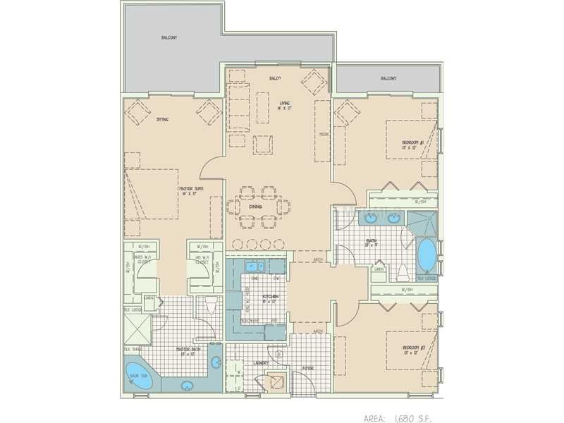 Grand Bahama floor plan